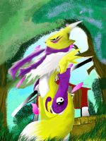renamon en photoshop by maniac-fox