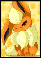 pokemon Flareon by Anais-thunder-pen