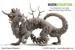 Forest Emperor Project Launch by emilySculpts