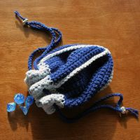 Ravenclaw Dice Bag by ArielManx