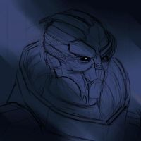 Garrus by JoseDraws