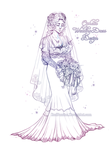 Ophelia Wedding Dress Design LA by RedPassion