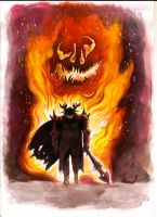 Fire Knight of Goet Order by DHDarkHeretic