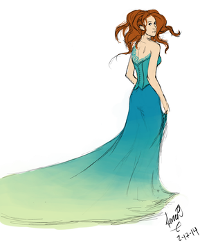 Sky Dress by Ellybethe