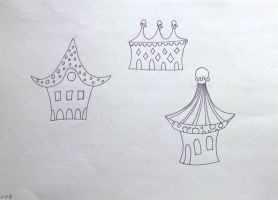 Houses. Sketch. 02 by Cunami-in-october