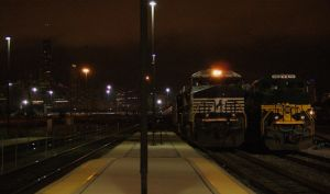 NS Engines in the City by JamesT4