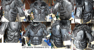 Werewolf body-suit WIP 5 by Farumir