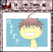CR-Mission: Style Meme.....? by hirappon