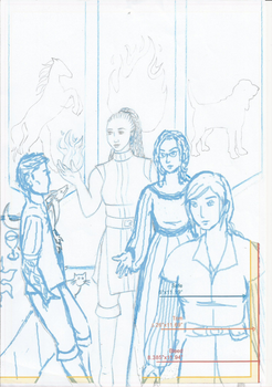 TCP2 back cover pencils WIP by chamha
