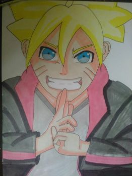Boruto Uzumaki by AmarTheNinja