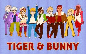 TIGER AND BUNNY by soltian