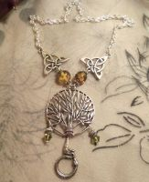 Custom Yggdrasil necklace by Destinyfall