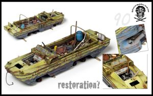 Dukw 1/35scale by AlessandroBruschi