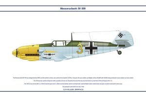 Bf 109 E-4 JG1 1 by WS-Clave