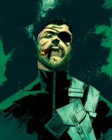 Nick Fury Scalera by SpicerColor