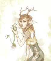 Sasha - The Woodland Drink by BethanyRoot