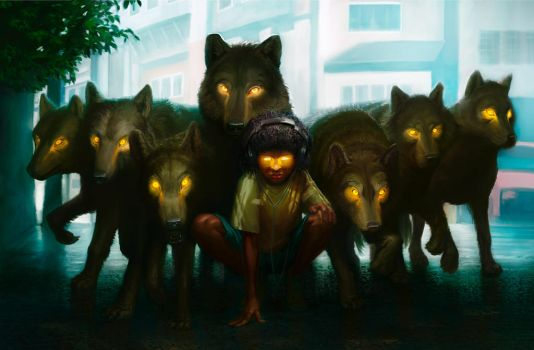 Pack Mentality by JoeSlucher