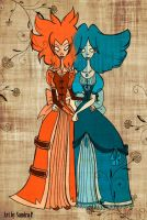 The Twins by roseandthorn