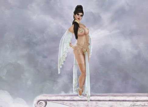 Goddess by nimil-3d