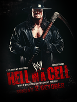 Hell In A Cell Poster by fraH2014