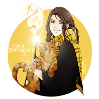 Proud Hufflepuff by Cuine