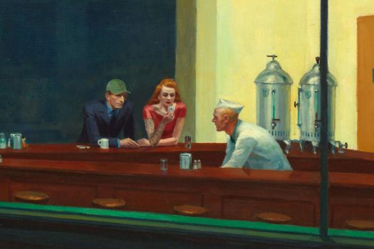 What if Edward Hopper was born in 1957 by djailledie