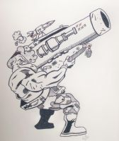 Dude with a Big Gun by TheJokesOnYou