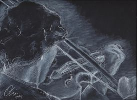 Sherlock's Violin by thestarvingartist1