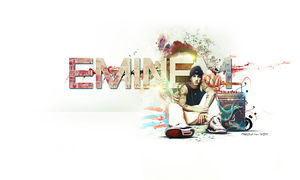 Eminem Wallpaper by SlideSG