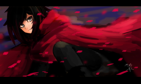 Ruby Rose by kyurosuku