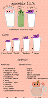 Smoothie Cats Reference Sheet *CUSTOMS CLOSED* by sophiesuds