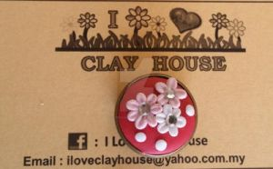Handmade Brooches by ILoveClayHouse