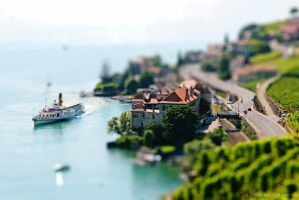 Tilt Shift I - St Saphorin by b4silio