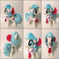 Plushie: Coco Pommel - My Little Pony: FiM by Serenity-Sama