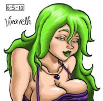 Viraveth Colored by LunaKitty2006