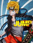 Naruto Shonen Jump Cover by Stray-Ink92