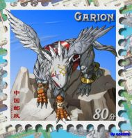 Garion The Stamp by exvee