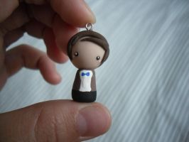 Doctor Who Chibi Charm by CocoCharms
