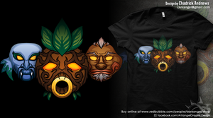[Shirt] Faces of the Hero by cArxangel