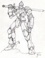 mech...without a name yet by blackswordsman28