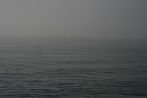 Endless Foggy Ocean by FoxStox