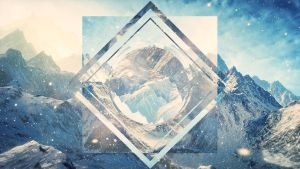 Hipster Wallpaper Concept Mountains by Centoste