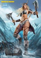 Mountain Maiden by zzzcomics