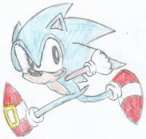 Sonic's Passing By by Sonicdude645