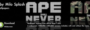 Ape shall never kill Ape by Melo-Dzine
