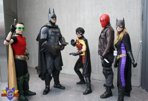 Batman Family Cosplay - NYCC 2013 by ConMenWebSeries