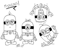 30 Day Challenge - Minions by melissaduck