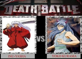 Inu-Yasha VS Yoko Kurama DEATH BATTLE by Dark-dragon99