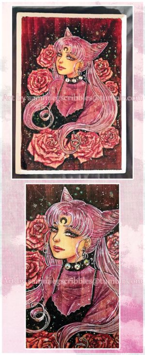 Black Lady medium marker plaque- For Sale by Roots-Love