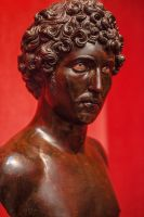 Bust of a Young Man by servilonus
